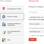 How to Create a Google+ Page : Google+ Fan Page for Your Blog