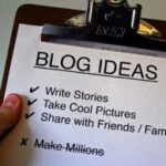 8 Ways To Generate Great Ideas For Your Blogging Business