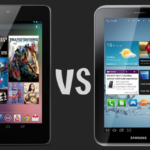Google Nexus 7 vs Galaxy Tab