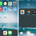 How to reduce the transparency of menus in iOS 7.1